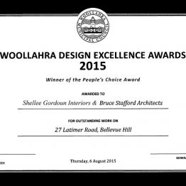Award_Woollahra_Design_Excellence_2015